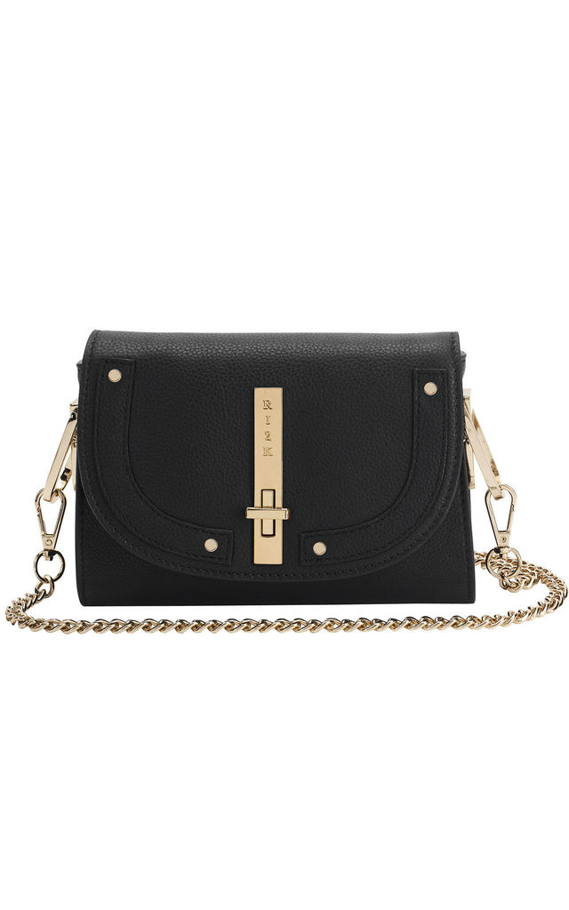 Gaby Crossbody Bag in Black by RI2K London