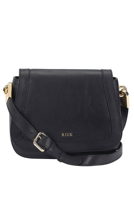 Cole Soft Saddle Bag in Black by RI2K London
