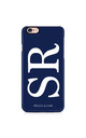 Initials Personalised Phone Case in Navy by Peggy and Sam