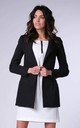 Classic Jacket with Pockets in Black by Bergamo