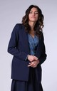 Classic Jacket with Pockets in Navy by Bergamo