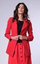 Classic Jacket with Pockets in Red by Bergamo