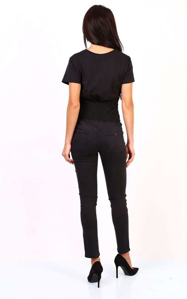 Black Maternity Jeans by FreeSpirits