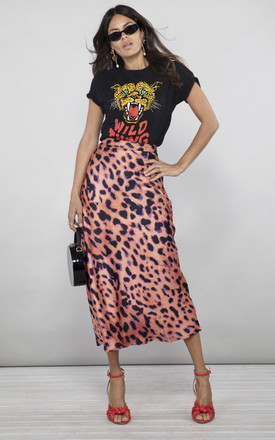 Renzo Skirt In Plorange by Dancing Leopard Product photo