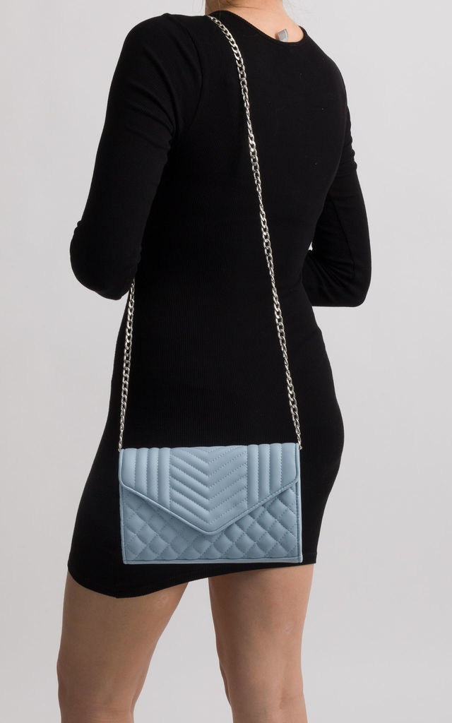 Karina Serenity Quilted Soft Faux Leather Shoulder Bag by KoKo Couture