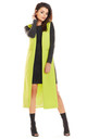 Maxi Loose Vest in Lime by AWAMA