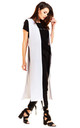 Maxi Loose Vest in White by AWAMA