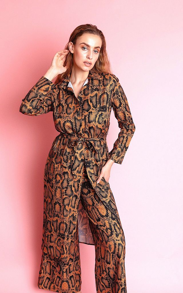 SASHA ANIMAL PRINT TWO PIECE SETS by IVY EKONG FASHION