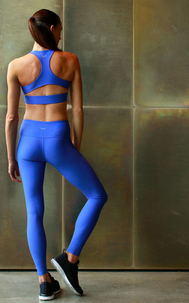 PULSE SPORTS BRA in FRENCH BLUE by Skimmed Milk