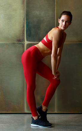Go To Leggings   Tango Red by Skimmed Milk Product photo