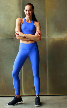 Go To Leggings In French Blue by Skimmed Milk Product photo