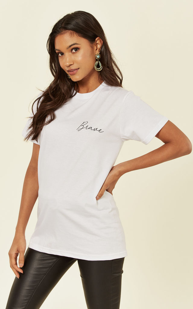 Brave Short Sleeve T-Shirt by Shop SilkFred
