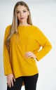 OVERSIZED MUSTARD ULTRA SOFT LONG SLEEVE CARDIGAN by Aftershock London