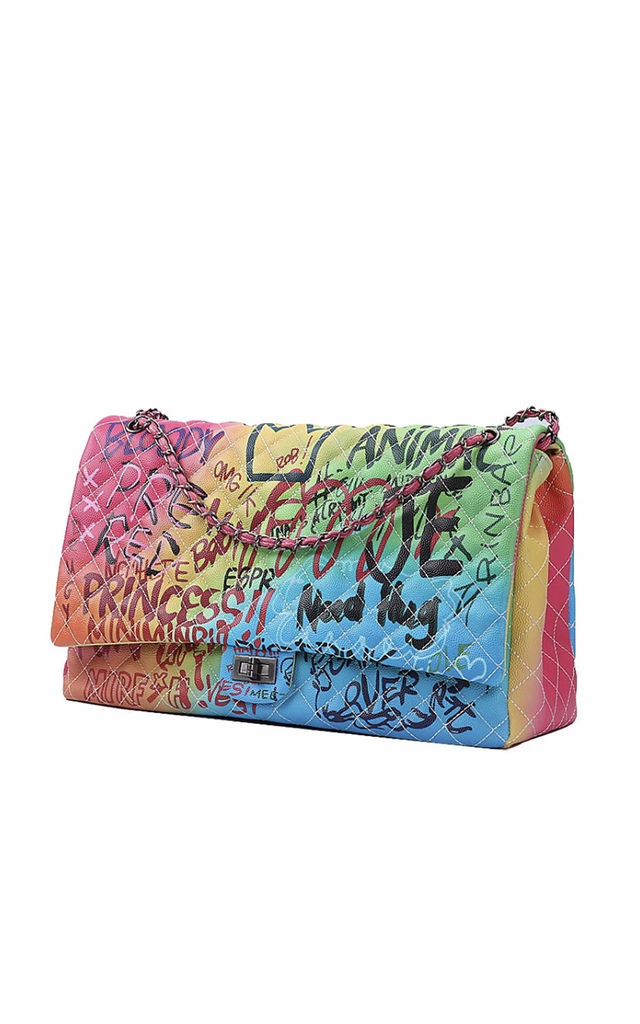 India Multicolour CITY BAG by Broke and Beautiful