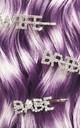 Crystal Word Bobby Pin - BABE by Crown and Glory