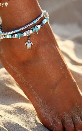 Beach Anklet by Timelessjunk
