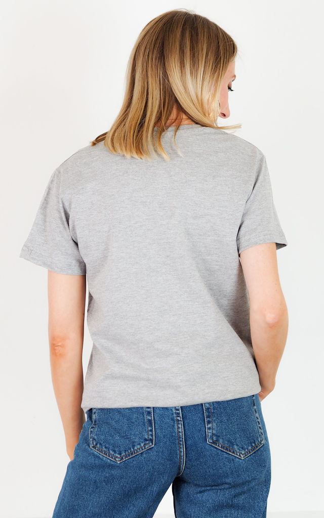 Embroidered Custom Year T Shirt - Grey by Rock On Ruby