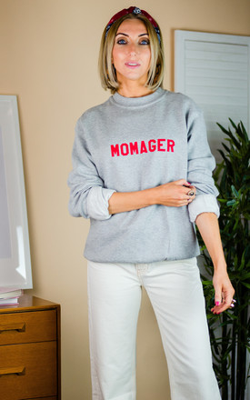 Momager Sweatshirt in Grey by Rock On Ruby