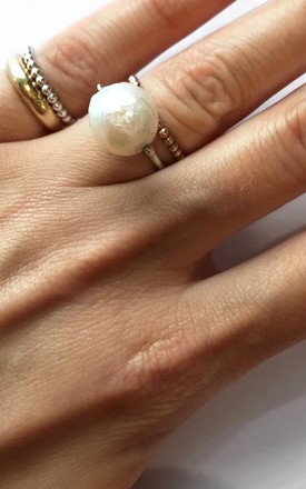 Sterling Silver Pinky Ring by Ammé London Jewellery