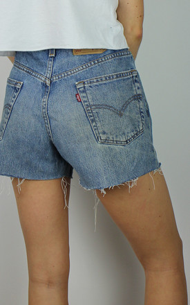 Vintage Levi's Denim Shorts W Red Tab Back 4838834 by Re:dream Vintage Product photo