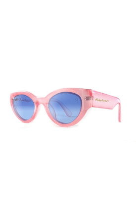 ZANTE Sunglasses in Pink and Blue (RR44-3) by Ruby Rocks Sunglasses