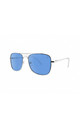 MALTA Aviator Sunglasses with Silver Frame (RR46-2) by Ruby Rocks Sunglasses