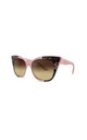 Gozo Cat Eye Sunglasses in Pink/Snake Print (RR47-2) by Ruby Rocks Sunglasses