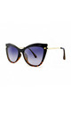 ISCHIA Cat Eye Sunglasses in Black/Tortoiseshell (RR48-3) by Ruby Rocks Sunglasses