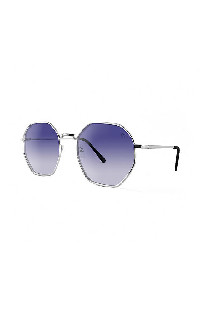 MUSTIQUE Sunglasses with Silver Frame (RR49-2) by Ruby Rocks Sunglasses