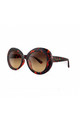 BORA BORA Chunky Round Sunglasses in Tortoiseshell (RR50-1) by Ruby Rocks Sunglasses