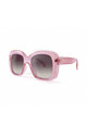 MONTSERRAT Chunky Square Sunglasses in Pink (RR51-3) by Ruby Rocks Sunglasses
