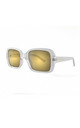 SARDINIA Sunglasses in Clear (RR52-2) by Ruby Rocks Sunglasses