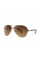 NEW YORK Aviator Sunglasses with Gold Frame (RR53-1) by Ruby Rocks Sunglasses