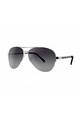 NEW YORK Aviator Sunglasses with Silver Frame (RR53-2) by Ruby Rocks Sunglasses