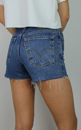 Vintage Levi's Denim Shorts w Red Tab Back 4840510 by Re:dream Vintage