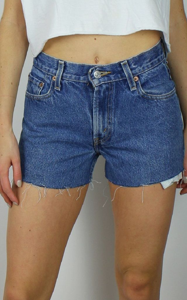 Vintage Levi's Denim Shorts w Red Tab Back 4840565 by Re:dream Vintage