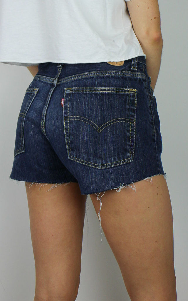 Vintage Levi's Denim Shorts w Red Tab Back 4840619 by Re:dream Vintage