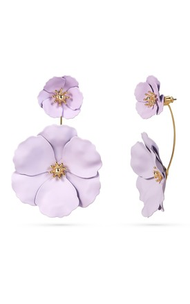 2 Way Statement Flower Earrings by With Bling Product photo
