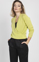 Sweater with long sleeves- lime by MKM Knitwear Design
