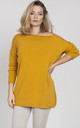 Oversize sweater - yellow by MKM Knitwear Design