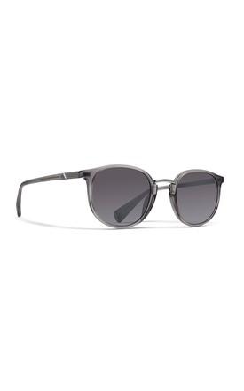 Harbour Round Sunglasses In Squall Grey/Silver by NOTINLOVE Product photo