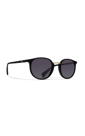 Harbour Round Sunglasses In Catwalk Black by NOTINLOVE Product photo