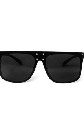 LEYTA Straight Edge Metal Frame Sunglasses by ShaniceEmily