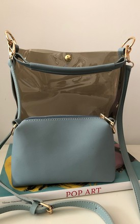 Polly duo bag blu by It's Me Not You