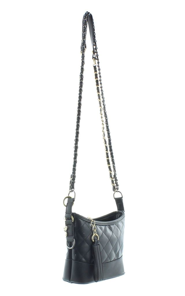 WAYTAIL Cross Body Bag with Quilted Detail in Black by Ruby Rocks Boutique