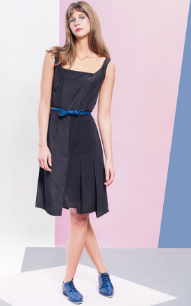 Chelsea A Line Dress In Black by LAGOM Product photo