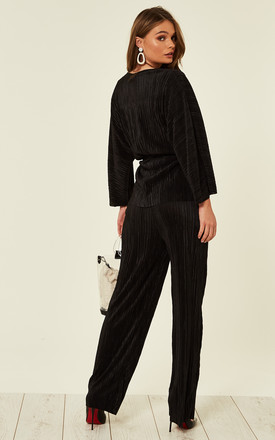 Ribbed Tracksuit Black by Studio Mouthy