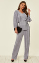 Ribbed Tracksuit Grey by Studio Mouthy