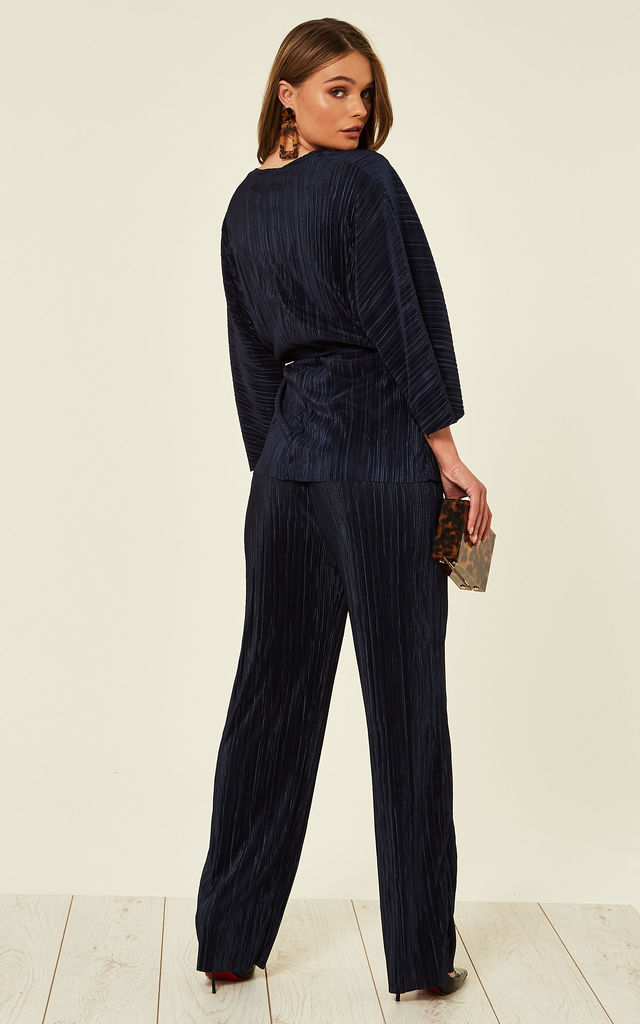 Ribbed Tracksuit Navy by Studio Mouthy