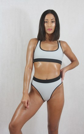 Scoop Bikini Reversible Top by Pursuit - The Label